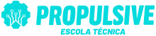 logo propulsive azul