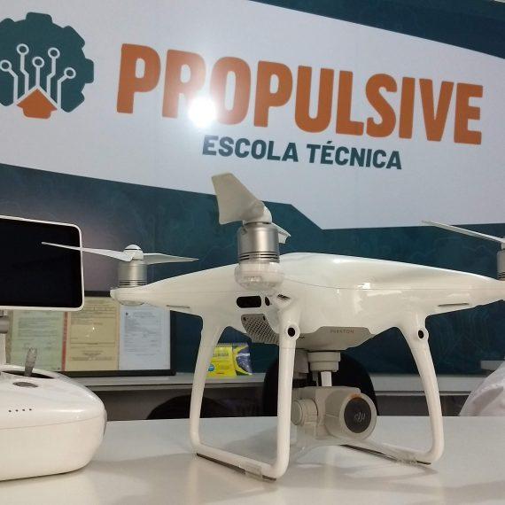 Aula prática com Drone